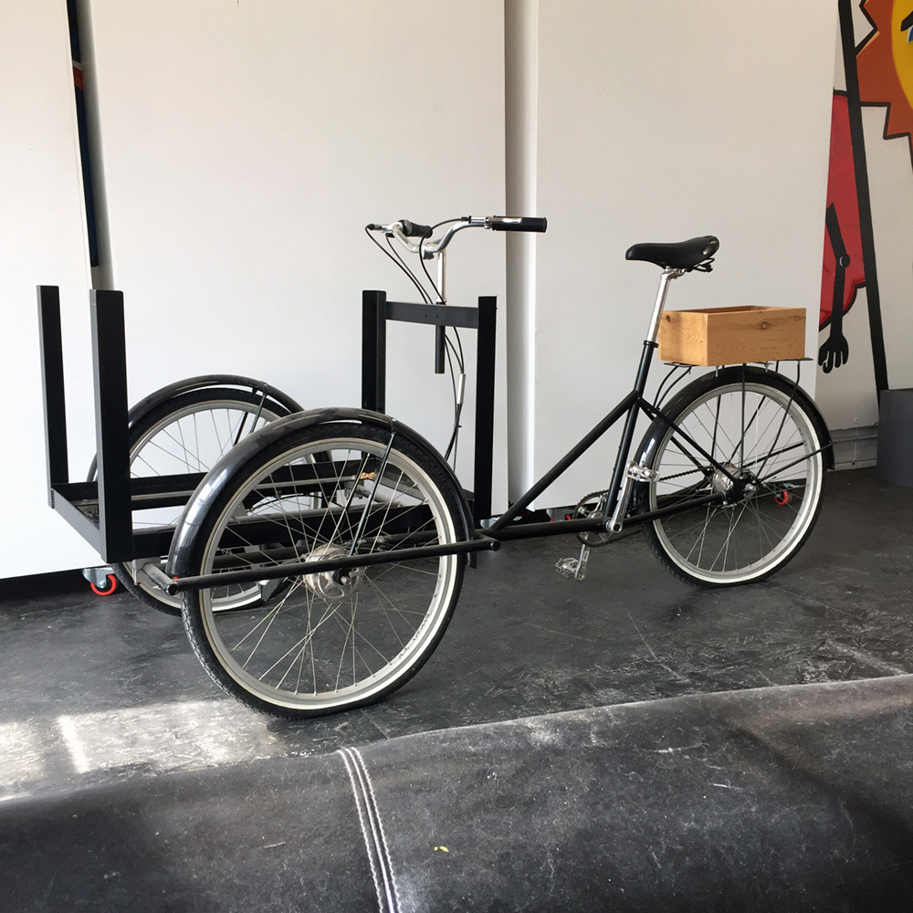 $1500 - Custom Bike Cart - Detroit Built Bike cart without the cart.