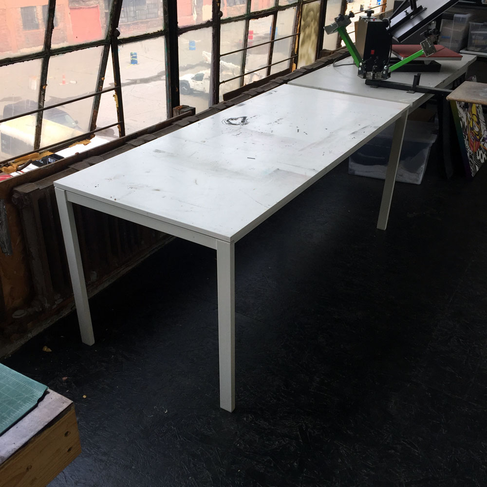$10 - Ikea Work Table - 30 in x 69 in