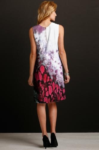 Forest Fire Silk Dress - Back.jpg