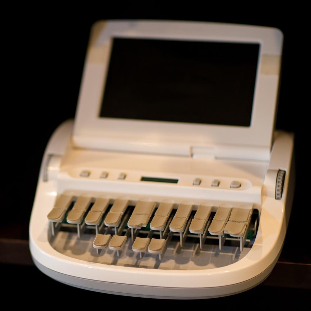 court reporter steno machine