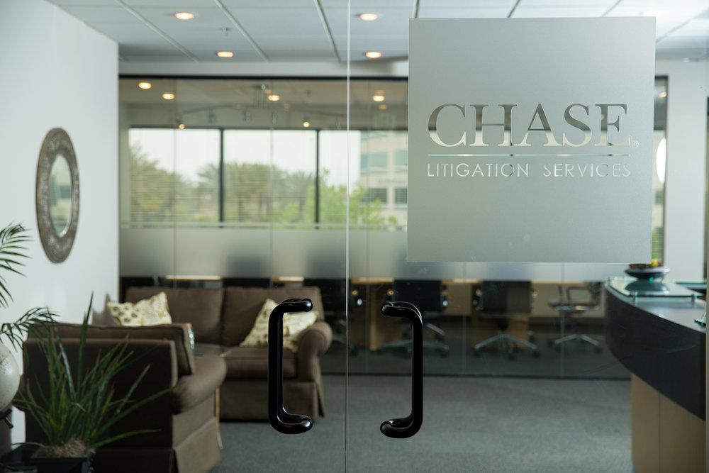 ChaseDepos Entrance