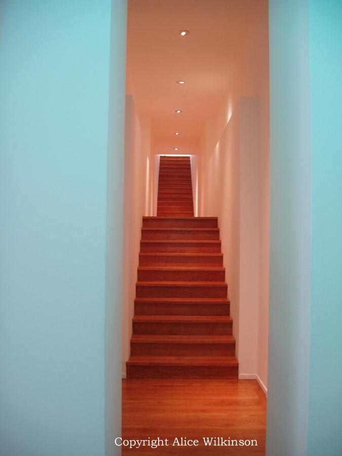 Paris stairs
