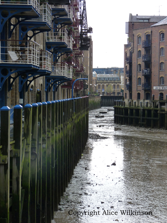 canal at low tide