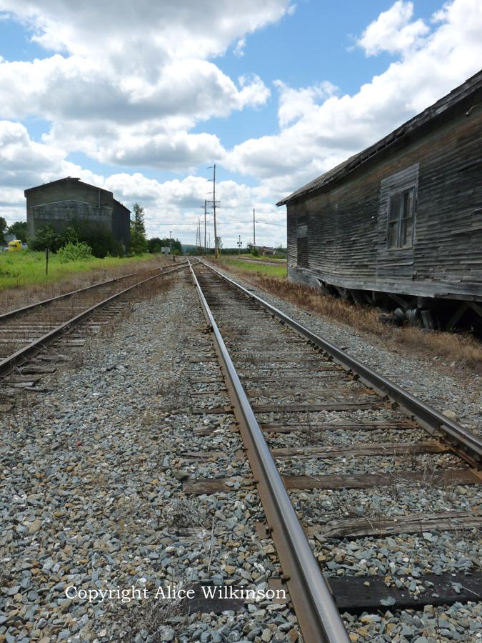 tracks at Sherman Station