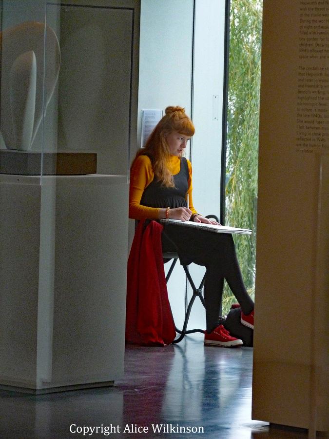 museum girl