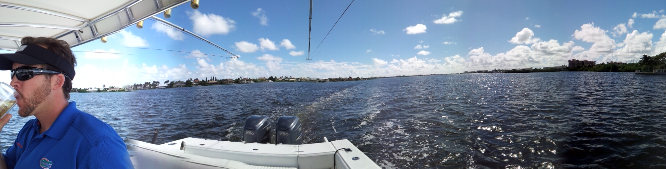 Cruising down the Intracoastal