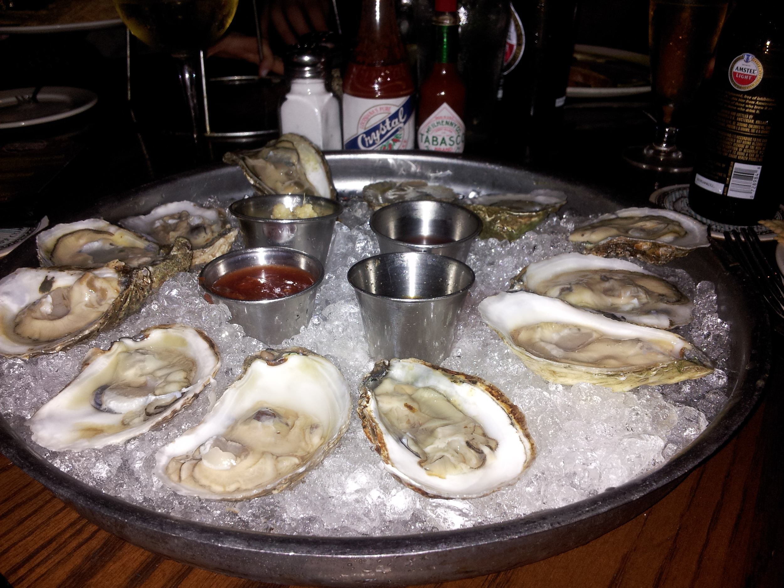 Oysters at City Oyster