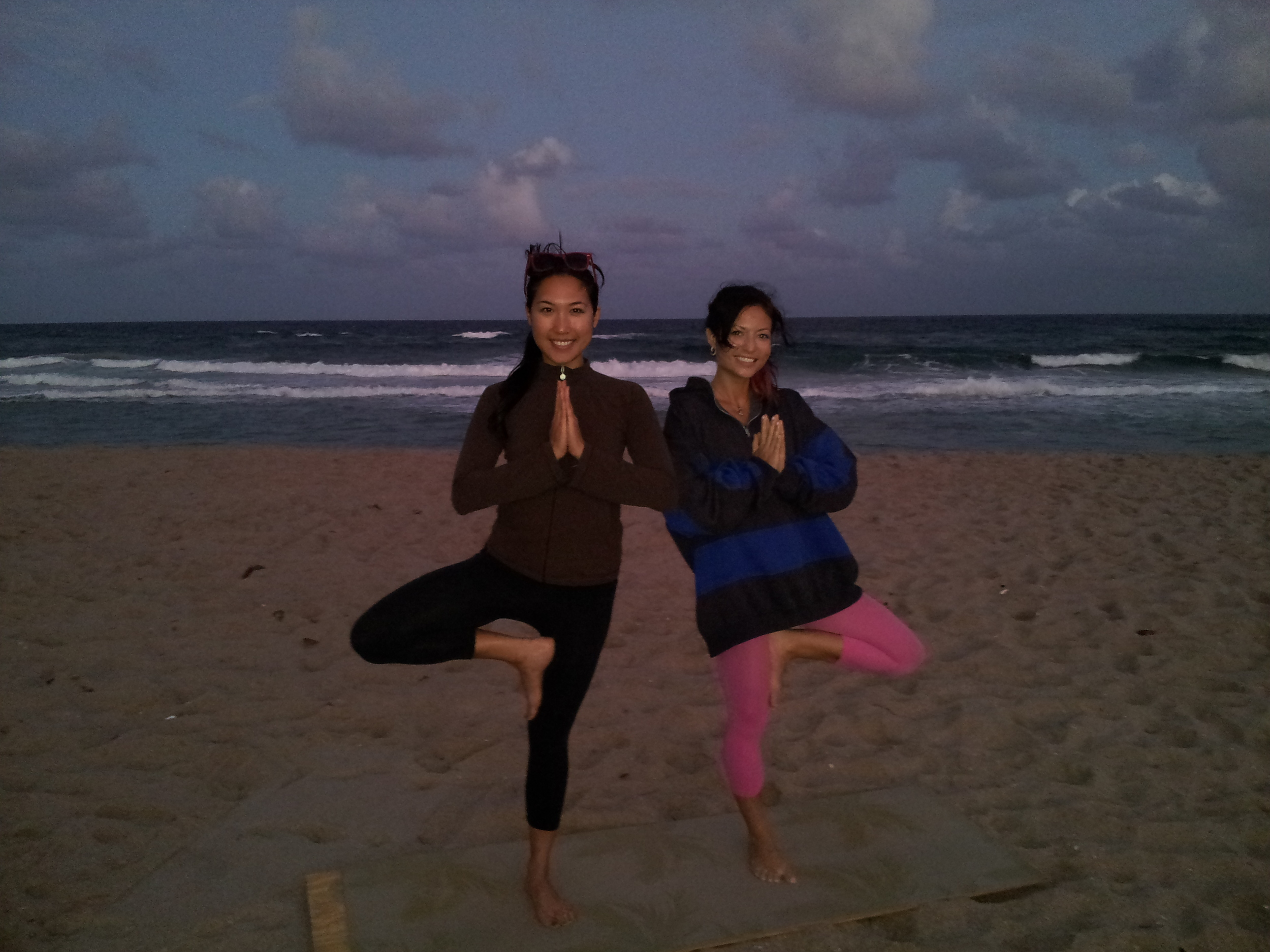 Sunset Yoga with Jessica Om of Jai Healing Arts