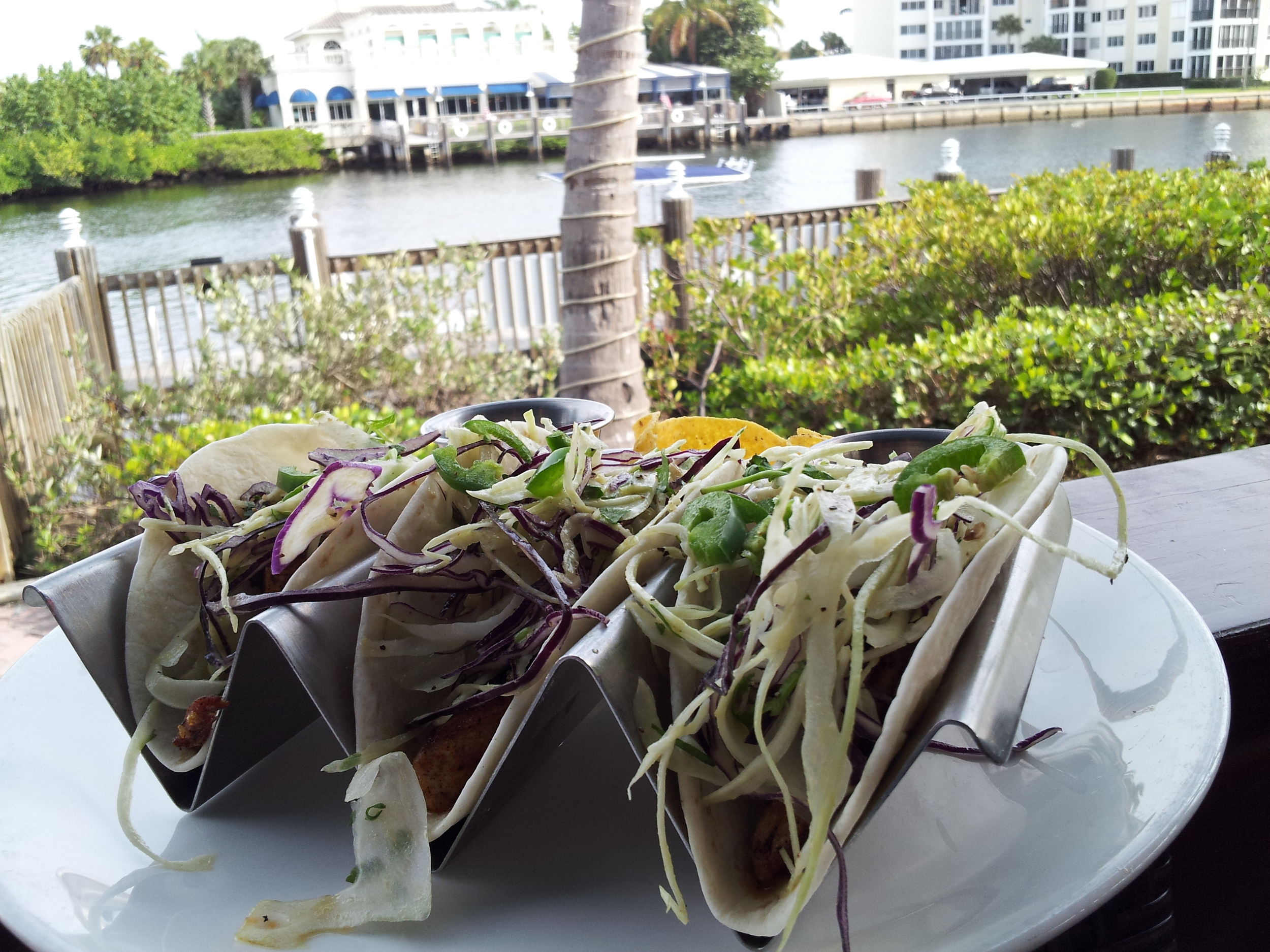 Tuna Tacos at Deck 84