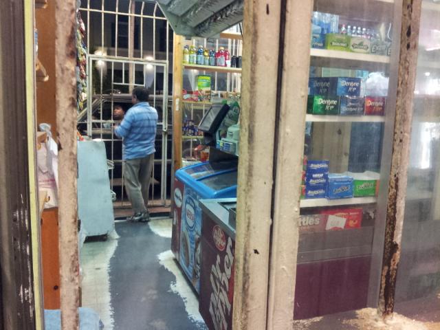 Convenient Drive Thru Food Store