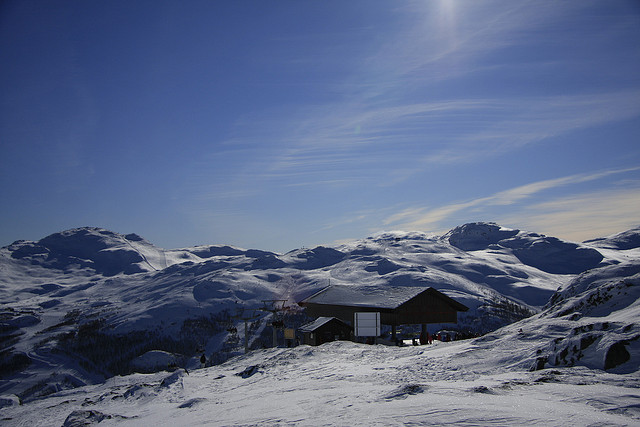 Hemsedal is a small mountain village known for some of Norway's best skiing and fly-fishing.