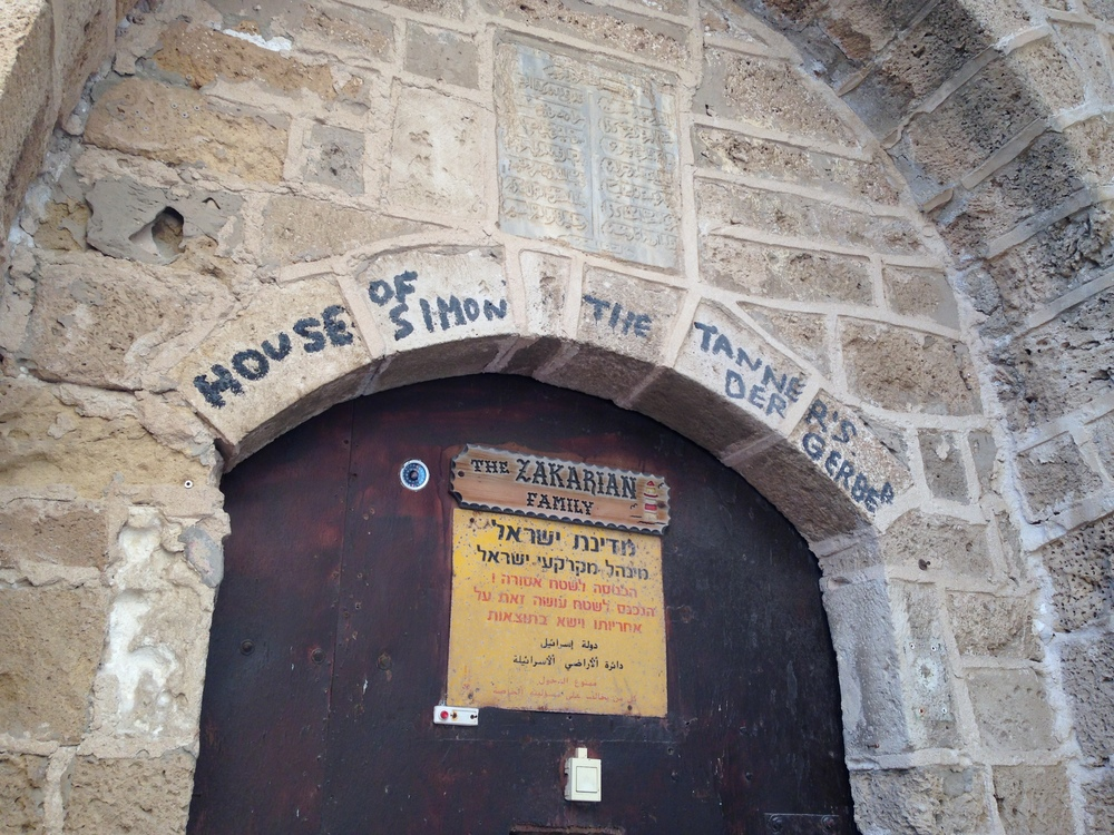 House of Simon the Tanner in Jaffa