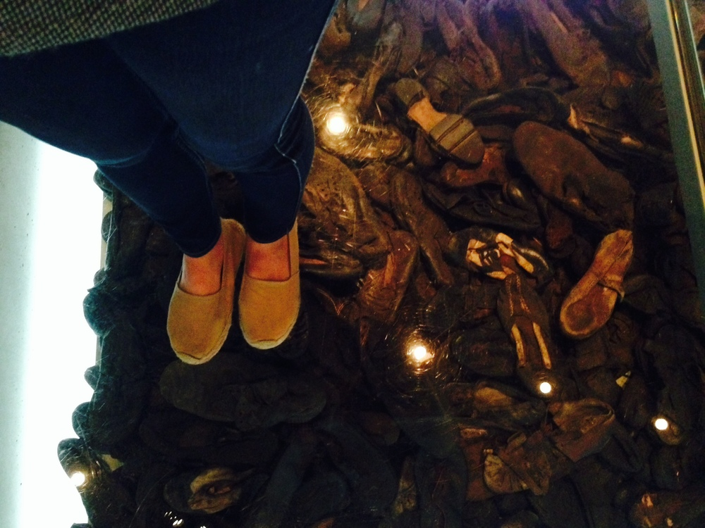 Shoes of the Victims of those who died in the Gas Chambers