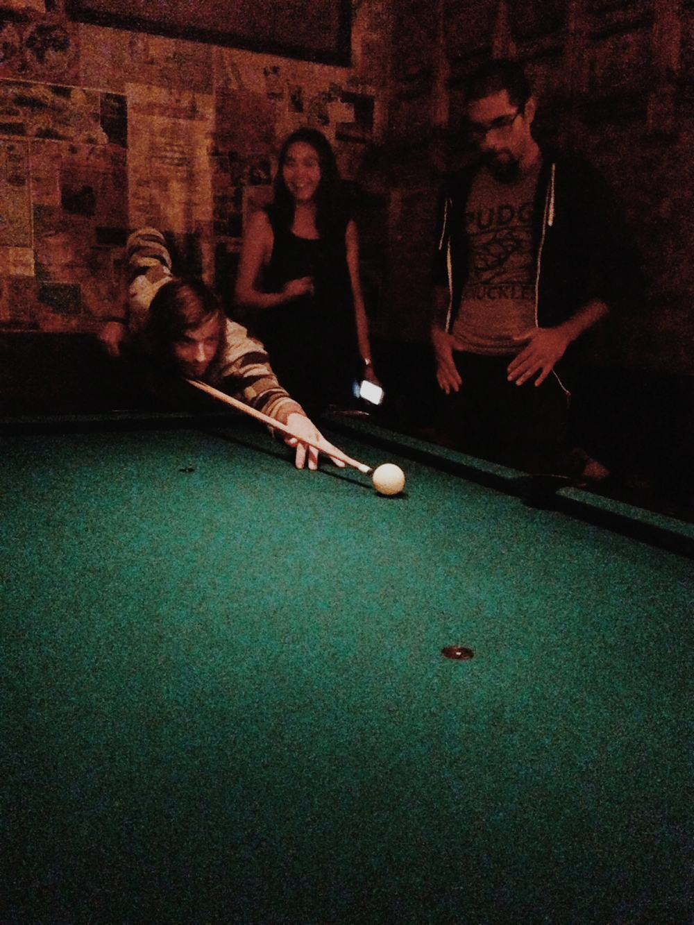 Battery Harris - Playing Pool