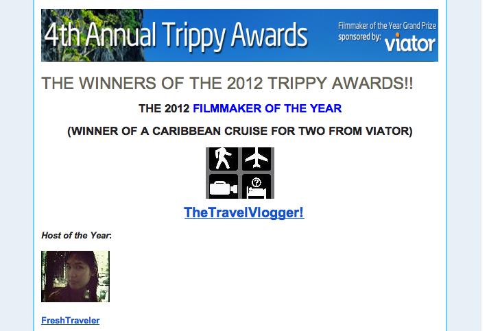 http://www.tripfilms.com/users/FreshTraveler/videos?credits=true