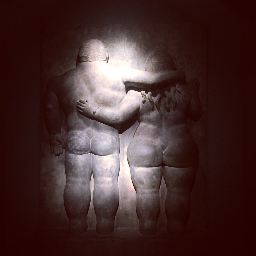 Adam & Eve by Fernando Botero
