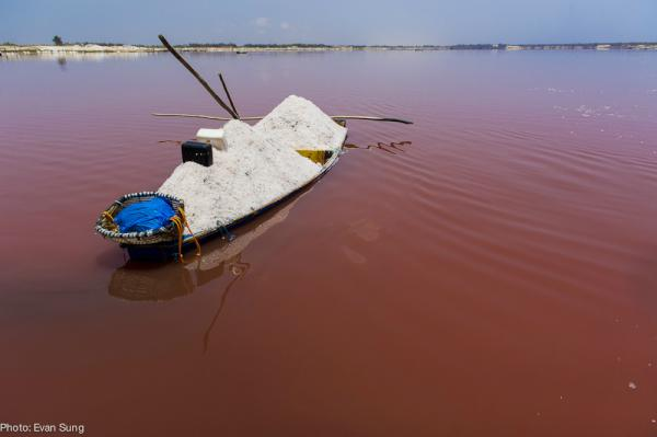 Lac Rose (Pink Lake)