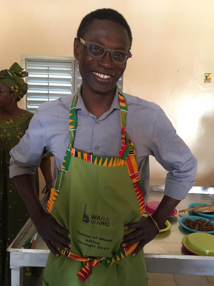 Chef Pierre Thiam... the leader of this activity as well as our translator extraordinaire.