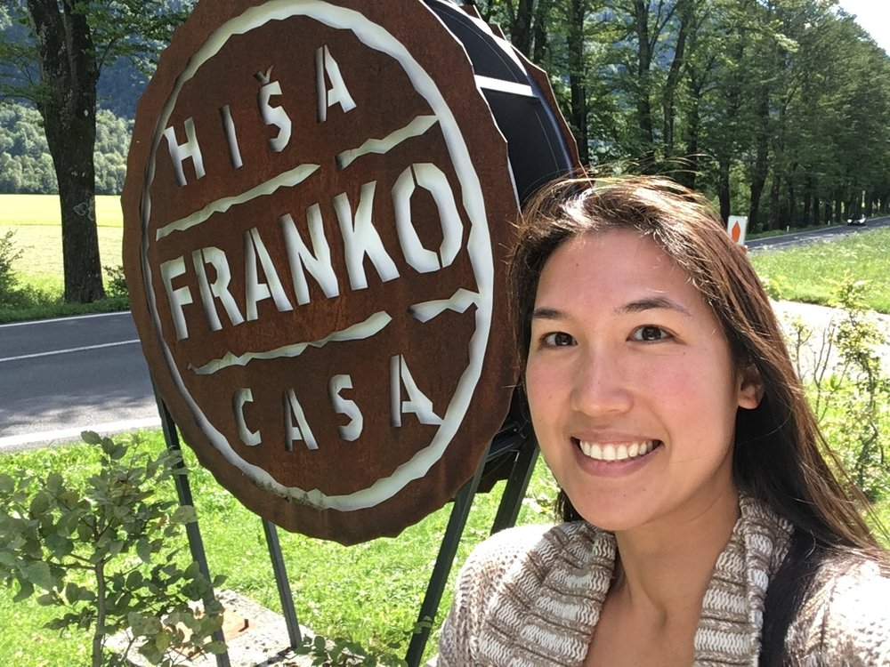 At Hisa Franko, made famous by the Chef Table's episode on Slovenia and Ana Roš. This place is so popular you need to make a reservation a year in advance.