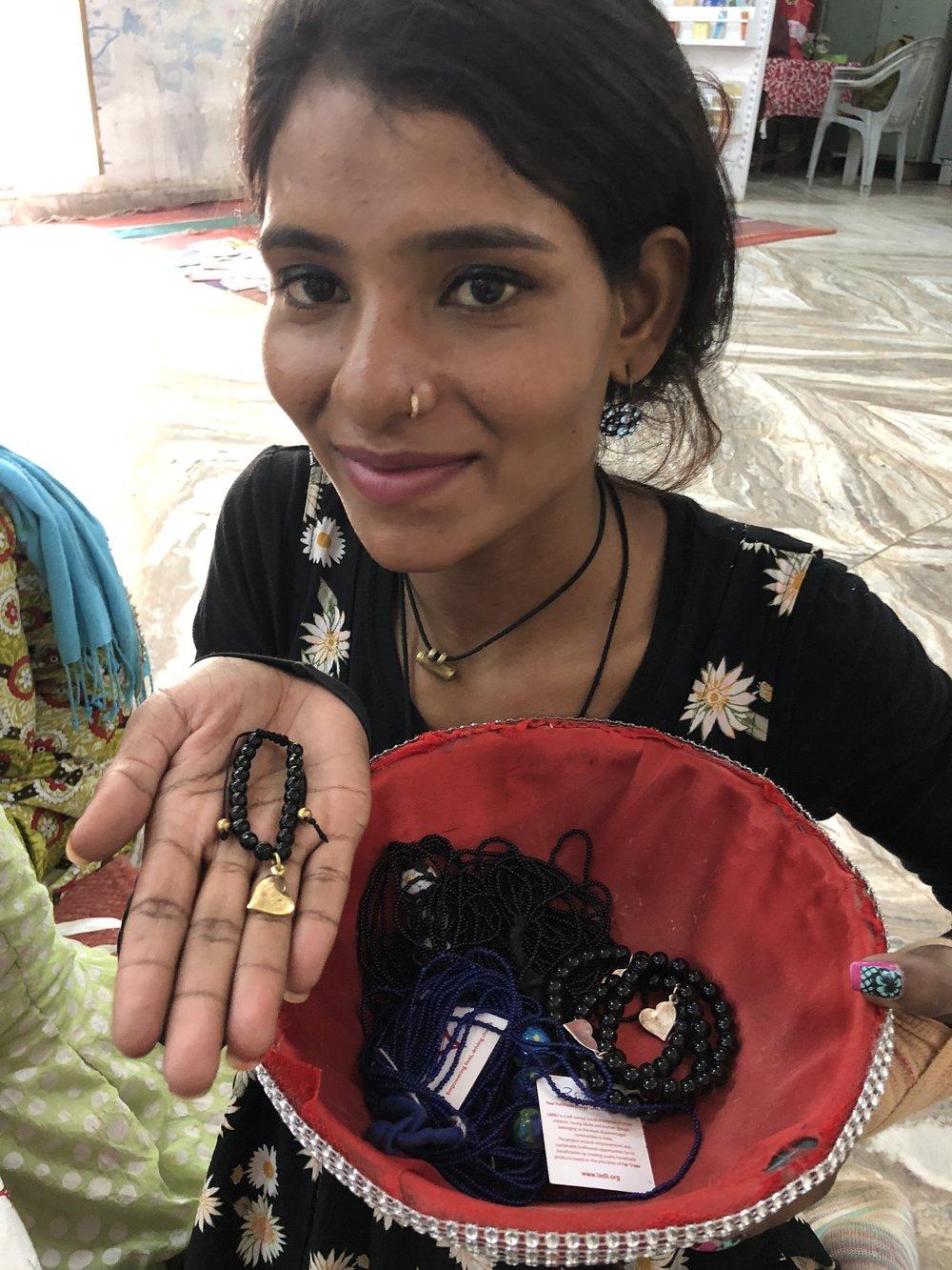 A Handmade Bracelet from Ladli