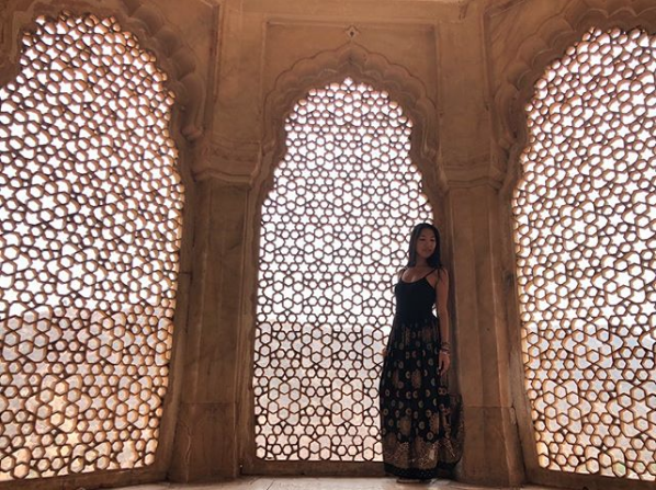 Jaali at Amer Fort