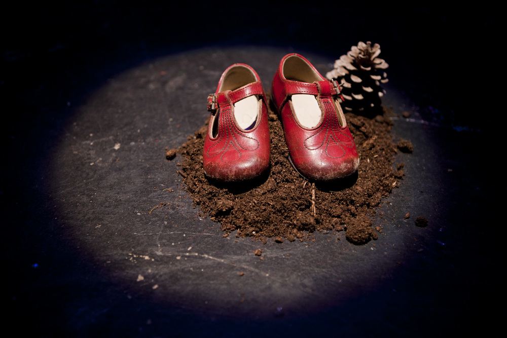 These are the first red shoes that ever I wore. Photo by Jannica Honey