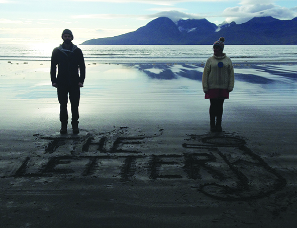 Jon and Jude of The Letter J on Eigg