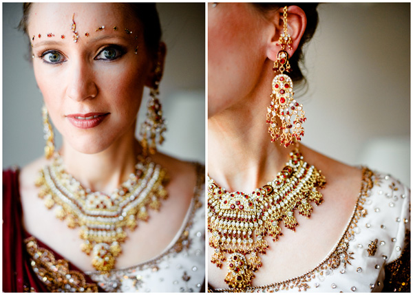 hindu bride portrait photographer