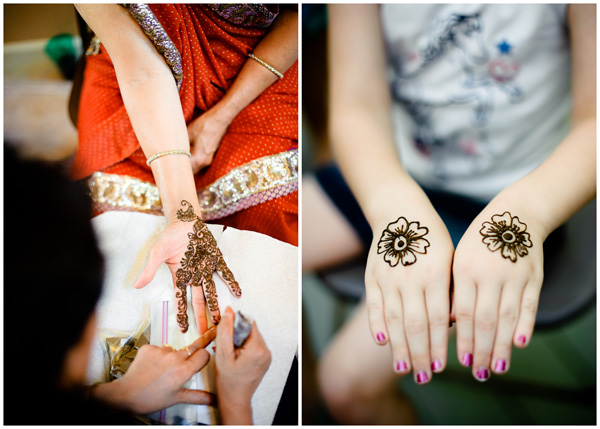 hands with henna portland photographer
