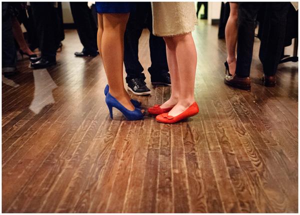 bride shoes reception