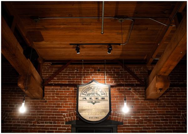 bridgeport brewing wedding room