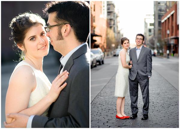 beautiful light top wedding portland photographer