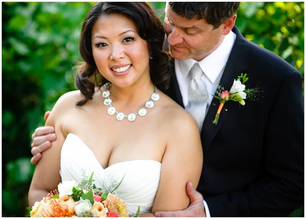 oregon wine country wedding portraits