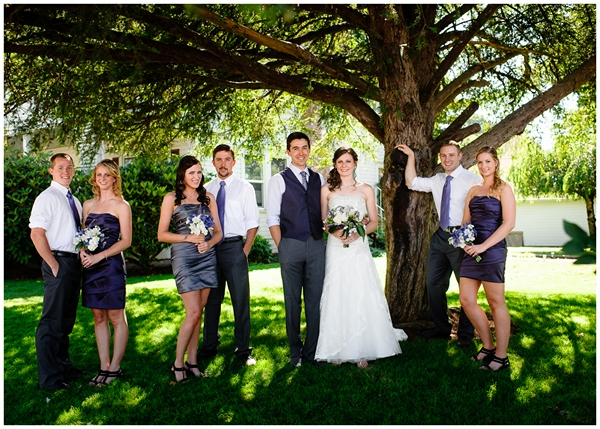 classic bridal party portrait