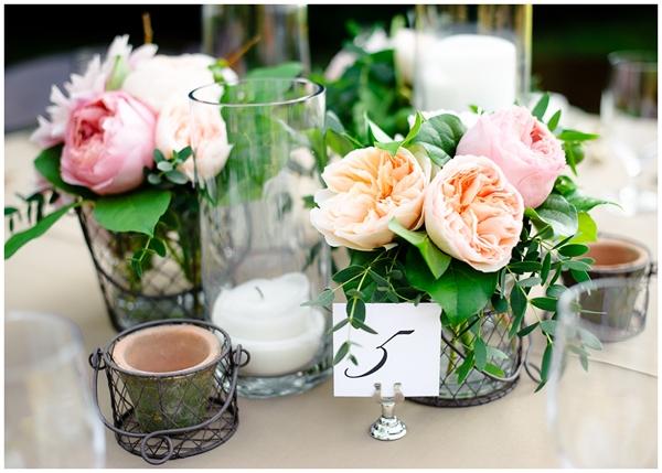 vintage floral table decorations