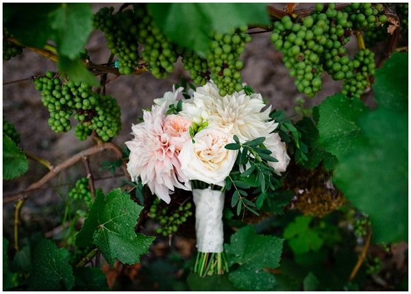 flowers by zest in vineyard