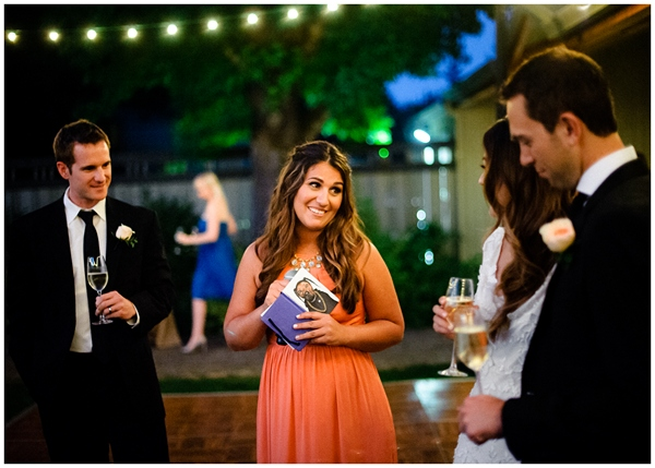 toasts during ponzi vineyard wedding