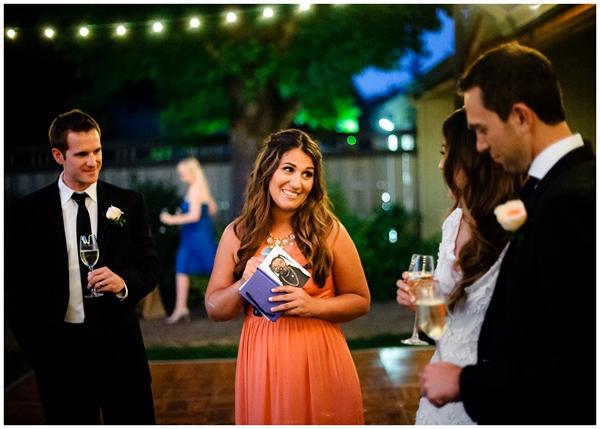 toasts during ponzi vineyard wedding