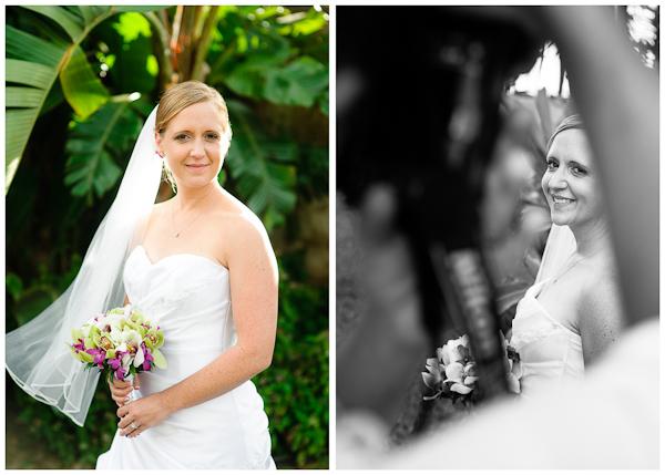 beautiful bridal portrait in poipu hawaii