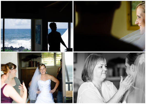 kauai wedding getting ready photos