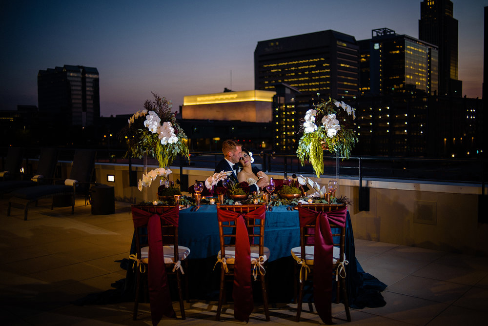 Omaha Marriott Downtown - Styled Shoot