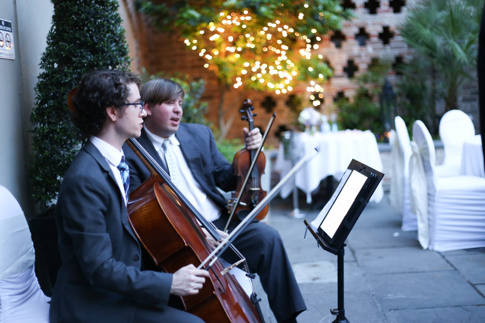 Violinst & Cellist