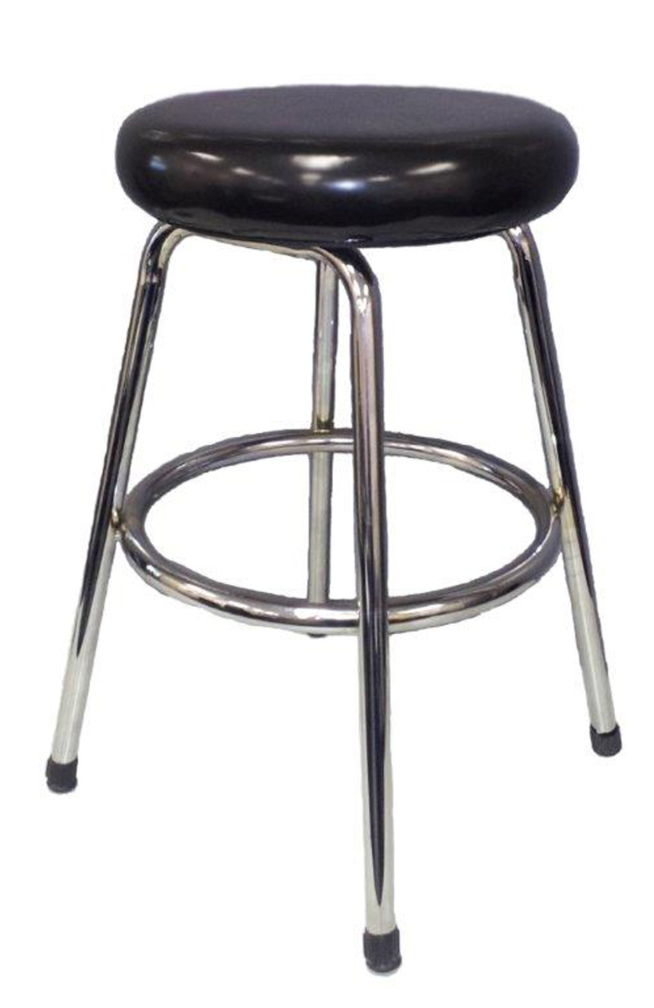 Wipe Down Bench Stool - Upholstered Round Seat_811.jpg