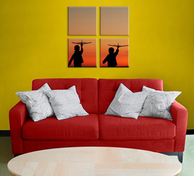 Gallery Wrapped Canvas Image Splits — Professional Photo Printing ...