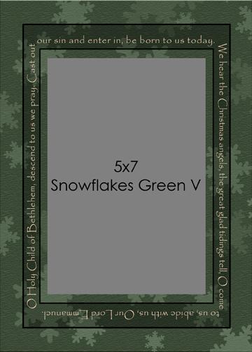 xmas08_SnowflakesGreen5x7v.jpg