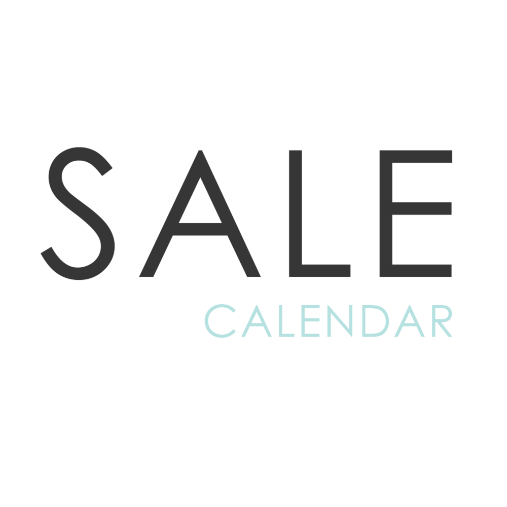 Color Inc sales begin at 9am EST on Wednesday and run through Midnight EST the following Wednesday.  *Sales are subject to change and may vary during holiday weekends.