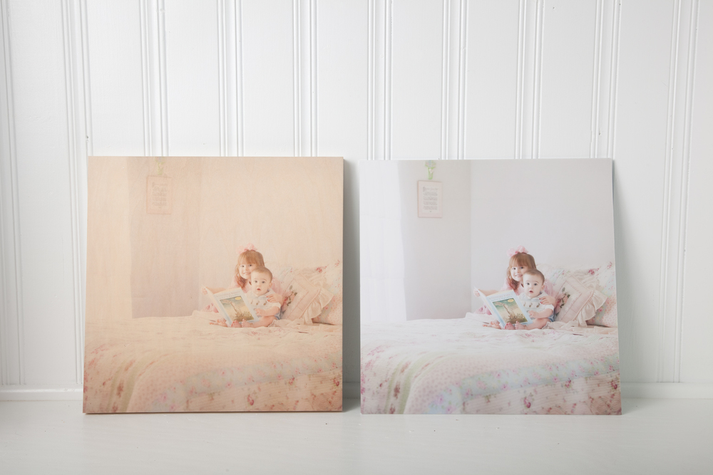 Direct to Wood Print vs. Fuji Pro Paper