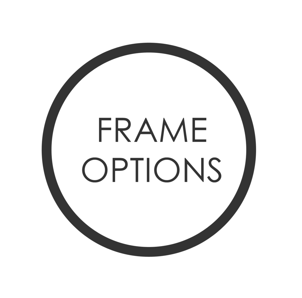 Click above to download a document that lists framing options for your clients.