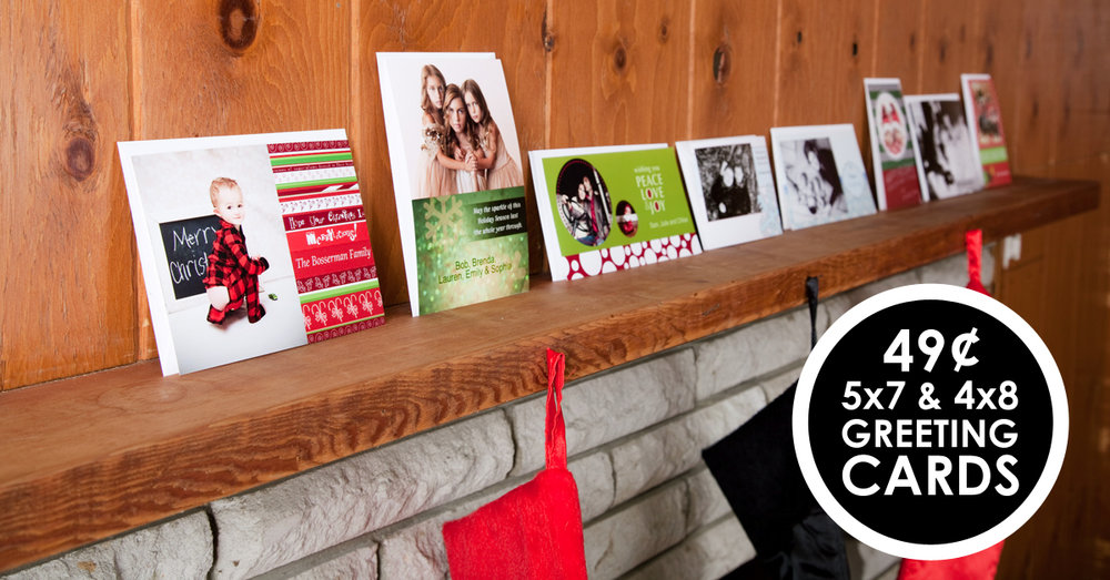 Holiday greeting card sale color inc professional photo and home holiday greeting card sale m4hsunfo