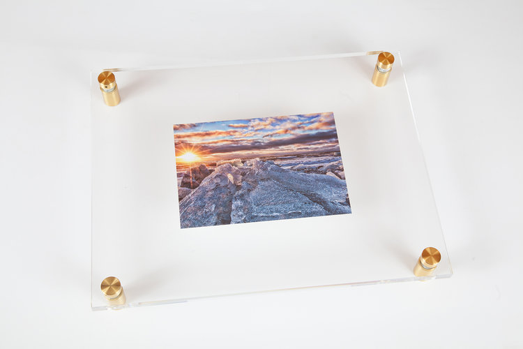 New Acrylic Float Frames — Professional Photo Printing   Photo Gifts ...